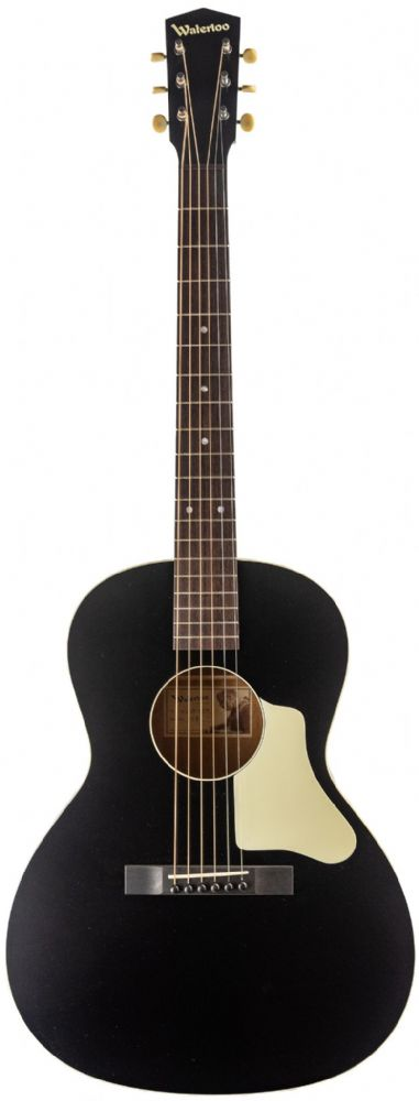Collings Waterloo WL14 X Braced, Shallow Neck, Black
